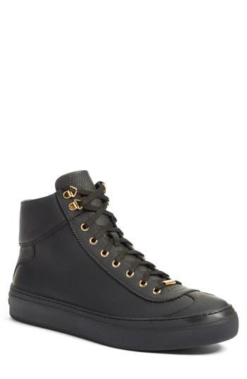 Men's Jimmy Choo 'Argyle' High Top Sneaker