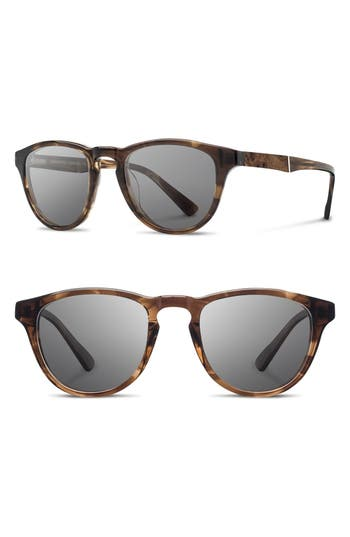 Men's Shwood 'Francis' 49Mm Polarized Sunglasses -