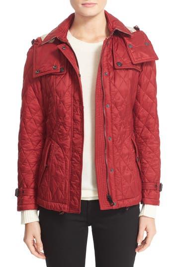 Women's Burberry Finsbridge ShortQuilted Jacket