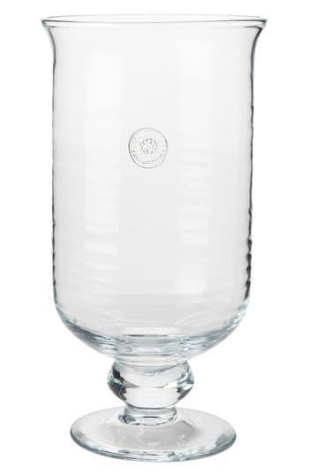 Juliska Berry & Thread Large Hurricane Glass Candle Holder
