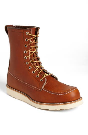 Men's Red Wing '877' Moc Toe Boot, Size 9.5 D - Brown