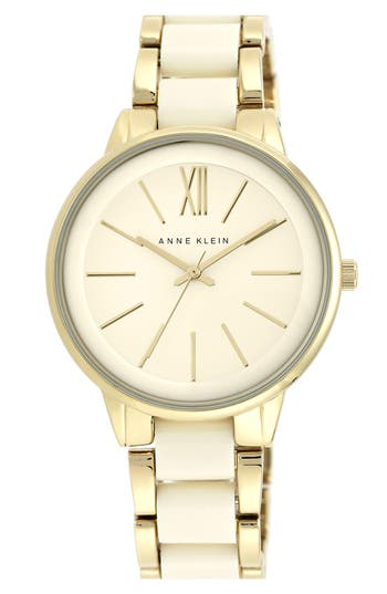 Women's Anne Klein Round Bracelet Watch, 43Mm