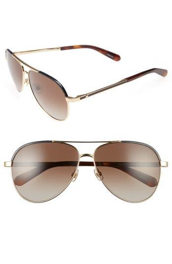 Women's Kate Spade New York Amaris 59Mm Sunglasses - Gold/ Havana