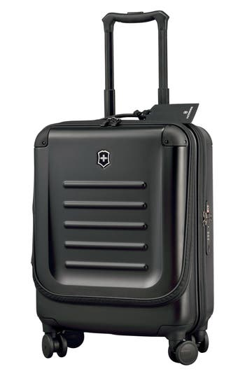 Victorinox Swiss Army 'Spectra 2.0' Dual Access Global Hard Sided Rolling Carry-On - Black