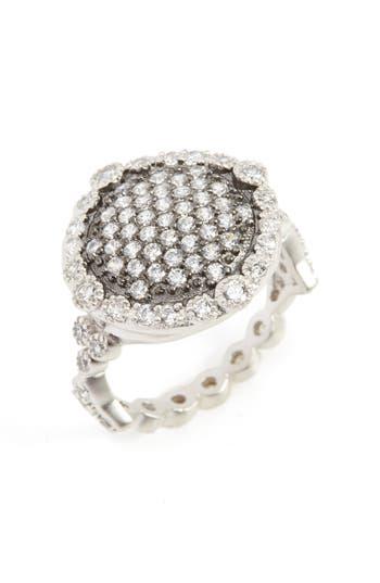 Women's Freida Rothman 'Mercer' Pave Disc Ring