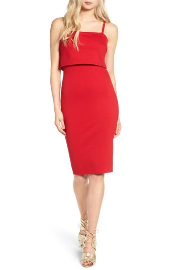 Women's Soprano Dress, Size Small - Red