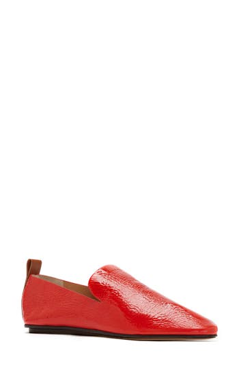 Women's Mercedes Castillo Tiziana Loafer, Size 6.5 M - Red