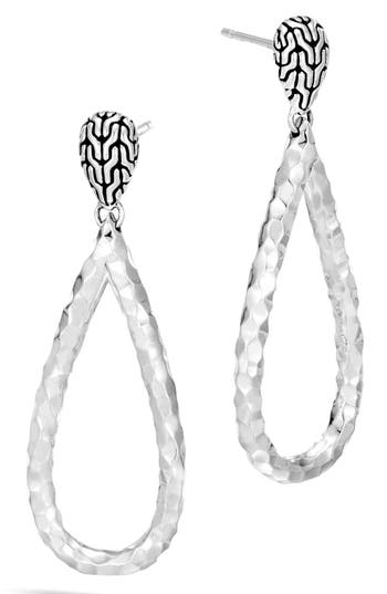 Women's John Hardy Classic Chain Teardrop Earrings
