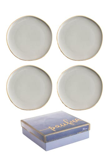 Rosanna Pacifica Set Of 4 Plates