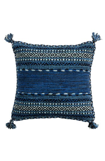 Surya Home Trenza Pillow, Size One Size - Blue