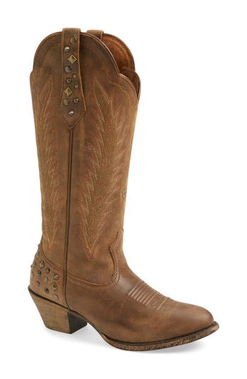 Ariat Dusty Diamond Western Boot- Brown