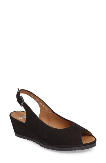 Ara Colleen Sandal- Black