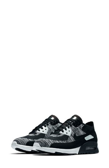 innovative design 13ce7 740cb Air Max 90 Flyknit Ultra 2.0 Sneaker in Black/ White/ Anthracite