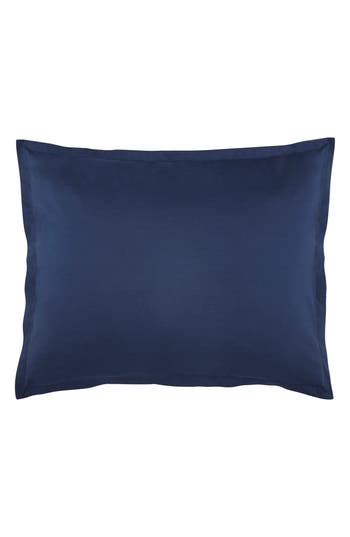 Kassatex Lorimer 300 Thread Count Pillow Sham, Size King - Blue