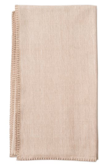Zestt Winston Throw Blanket, Size One Size - Beige