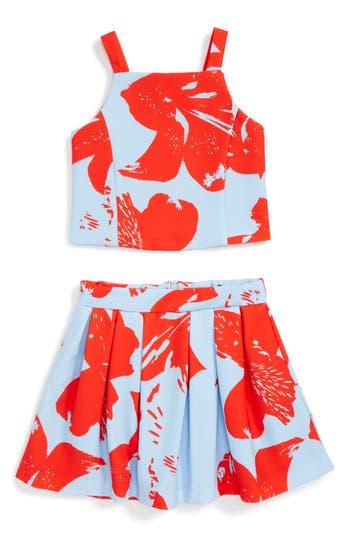 Girl's Bardot Junior Arabella Camisole & Skirt Set