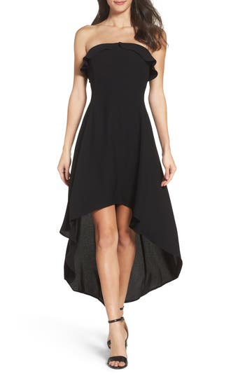 Women's 19 Cooper Ruffle Crepe High/low Dress