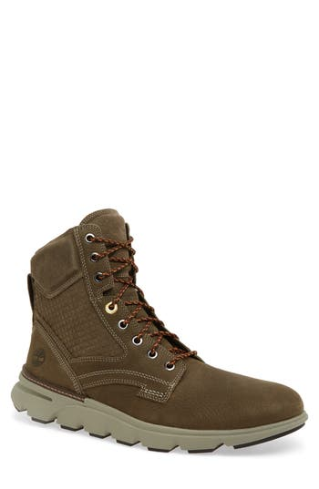 Men's Timberland Eagle Lace-Up Boot, Size 8 M - Brown