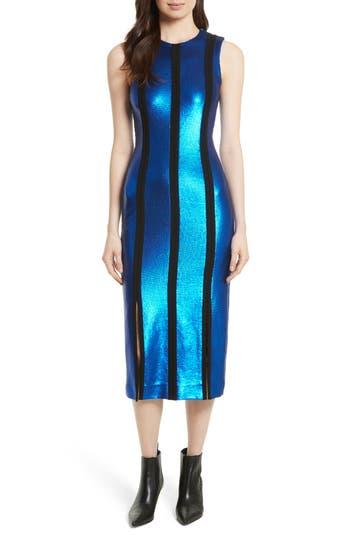 Women's Diane Von Furstenberg Sequin Panel Midi Dress