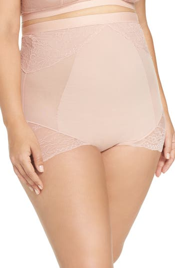 Plus Size Women's Spanx Spotlight On Lace High Waist Briefs