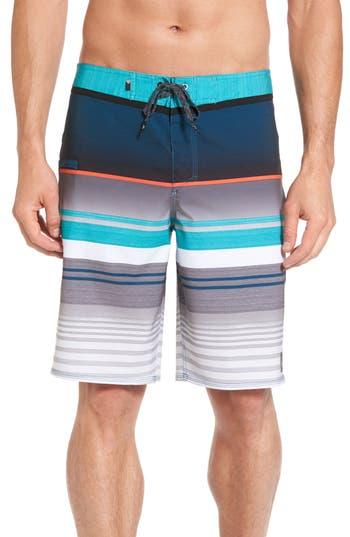 Quiksilver Everyday Stripe Board Shorts, Blue