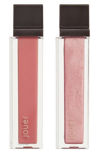 Jouer Melon & Citronade Rose Long-Wear Lip Crème Liquid Lipstick Duo - No Color
