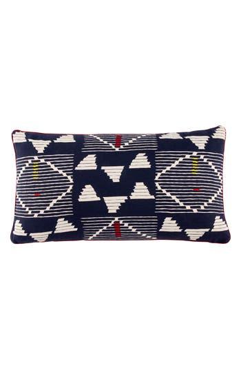 John Robshaw Kambu Bolster Decorative Pillow, Size One Size - Blue