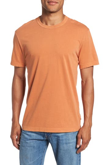 Men's James Perse Crewneck Jersey T-Shirt, Size 0(xs) - Orange