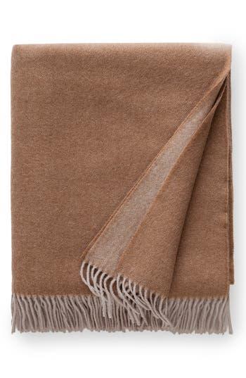 Sferra Tartini Merino Wool Throw, Size One Size - Beige