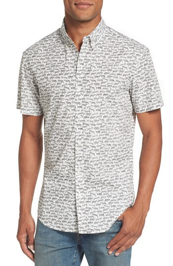 Men's Bonobos Riviera Slim Fit Print Sport Shirt
