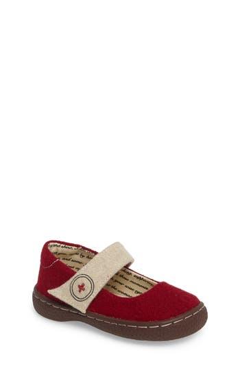 Toddler Girl's Livie & Luca Carta Ii Mary Jane, Size 10 M - Red