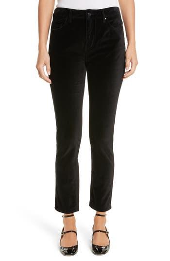 Women's Kate Spade New York Stretch Velveteen Ankle Pants