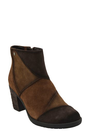 Earth Malta Water Resistant Bootie- Brown