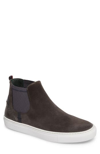 42785970dd7a78 Ted Baker Lykeen Chelsea Boot In Grey Suede
