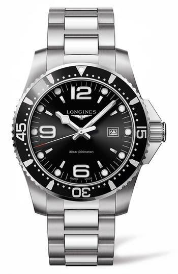 Longines Hydroconquest Bracelet Watch, 44Mm