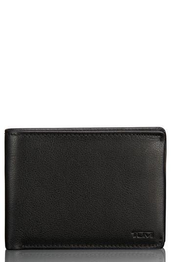 Tumi Leather Wallet - Black