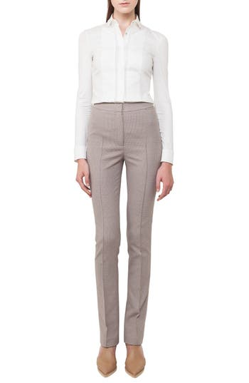 Women's Akris Punto Claire Stretch Cotton Pants