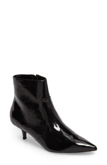 Topshop Abba Pointy Toe Bootie - Black