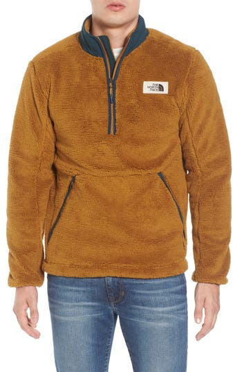 The North Face Campshire Pullover Fleece Jacket, Brown