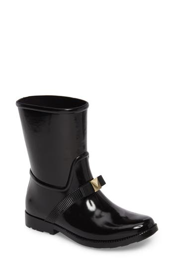 Michael Michael Kors Caroline Rain Boot, Black