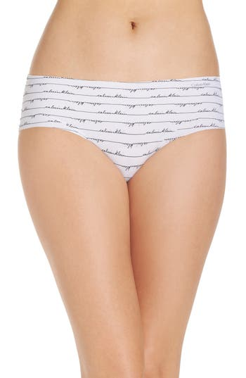 Women's Calvin Klein Invisibles Hipster Briefs, Size Small - White