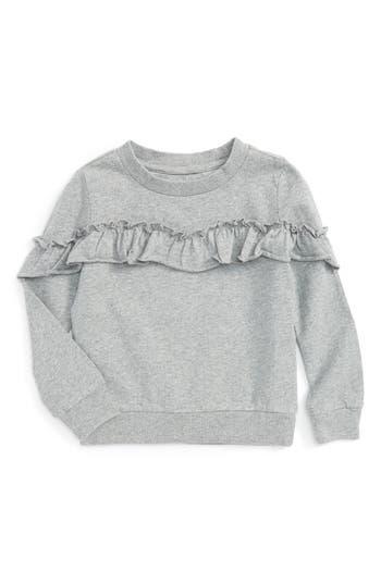 Infant Girl's Hudson Kids Ruffle Sweatshirt