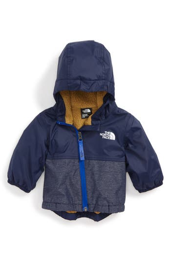 Infant Boy's The North Face Warm Storm Hooded Waterproof Jacket