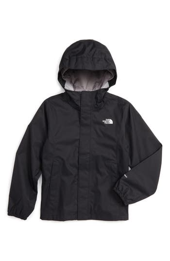 Girl's The North Face Resolve Reflective Waterproof Hooded Jacket