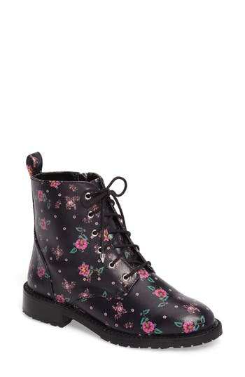 Rebecca Minkoff Gerry Lace-Up Boot, Black
