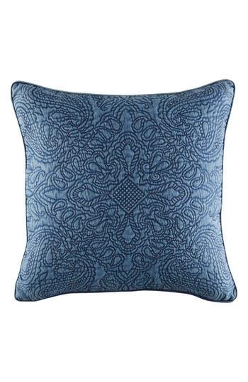 Tommy Hilfiger Vintage Bandana Accent Pillow, Size One Size - Blue