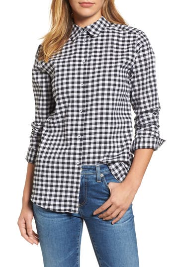 Petite Women's Caslon Button Front Shirt