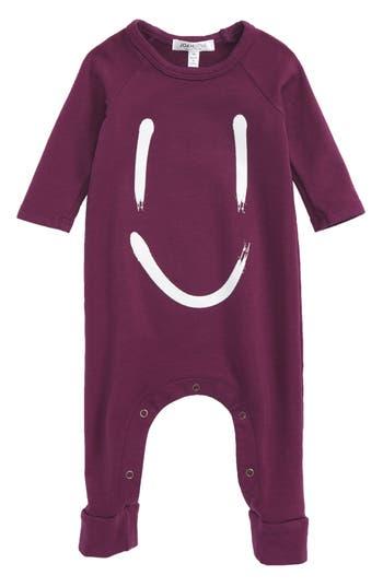 Infant Girl's Joah Love Smile Romper