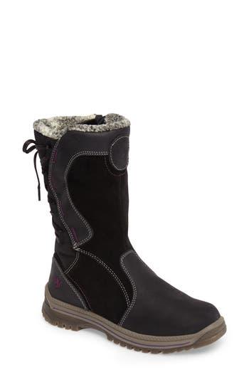 Santana Canada Mayer Faux Fur Lined Waterproof Boot, Black