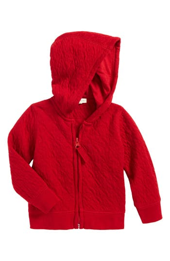 Infant Boy's Burt's Bees Baby Quilted Organic Cotton Hooded Jacket